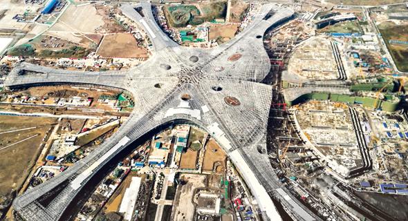 Beijing's new airport. Photo: AFP