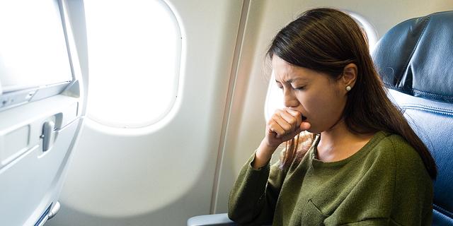 הקברניט מחלה מחלות חיידקים טיסה, צילום: שאטרסטוק