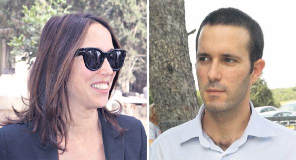 אבנר ועמליה דיין, צילומים: שאול גולן