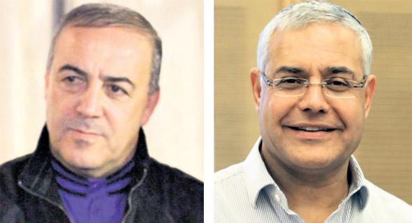 ז'קי לוי (ליכוד) ואכרם חסון (כולנו)