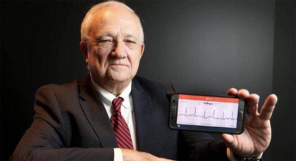 יעקב גבע ומכשיר הפריזמה של G-Medical