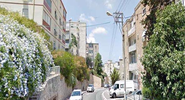 רחוב פאר בחיפה , צילום: Google Street View