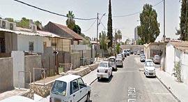 רחוב צביה המלכה באר שבע, צילום: Google Street View