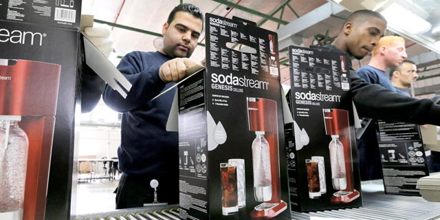 SodaStream factory. Photo: Reuters
