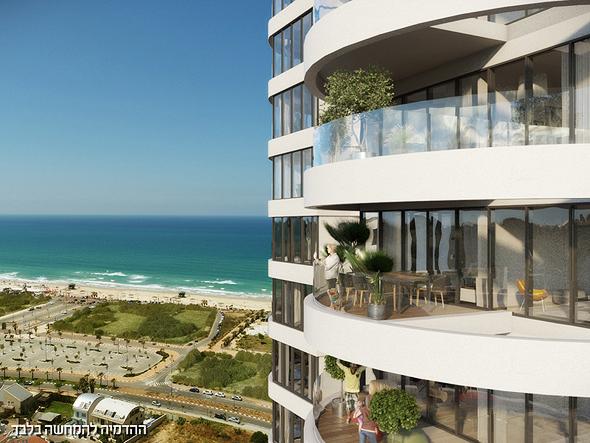 דירות עם נוף לים בריביירה המתפתחת של ישראל