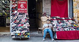 רוכל באיסטנבול, טורקיה, צילום: גטי אימג'ס
