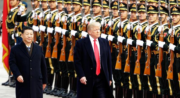 הנשיאים טראמפ ושי