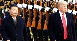 טראמפ ושי ג'ינפינג, צילום: בלומברג