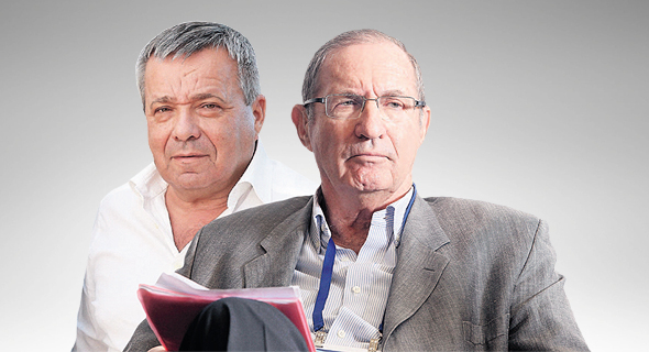 """מימין דן פרופר יו""""ר אסם ו אורי יהודאי מנכ""""ל פרוטרום, צילום: אוראל כהן"""
