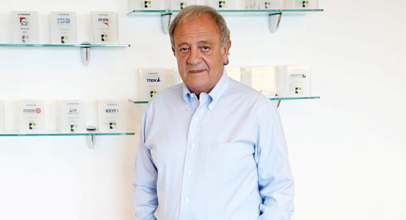 """ראובן אבלגון מייסד ויו""""ר רוסאריו קפיטל , צילום: יריב כץ"""