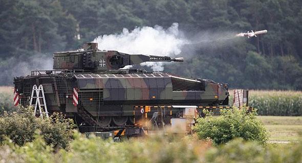 Rafael Spike missile test. Photo: Rafael
