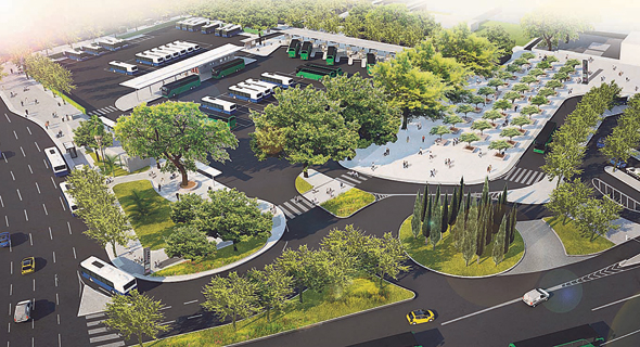 An illustration of the planned accessibility project