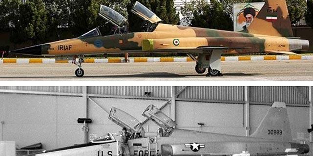 מטוס הקרב שחשפה איראן השבוע: שכפול של מטוס אמריקאי בן 44