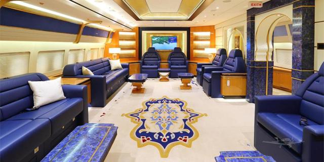 אחוזה שמימית: מטוס המלוכה הקטארי מוצע למכירה ב-640 מיליון דולר