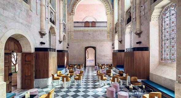 The Jaffa hotel bar. Photo: Amit Giron