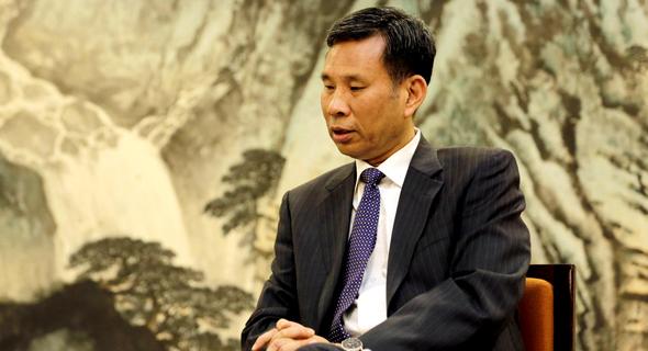 שר האוצר הסיני ליו קון, צילום: JASON LEE