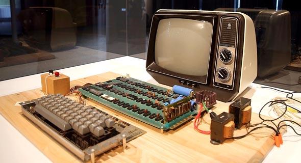 מחשב אפל 1 1976 מכירה פומבית Apple-1, צילום: גטי אימג'ס