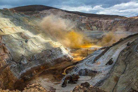 מכרה זהב בפרו