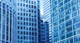 """בניינים כחולים זירת הנדל""""ן, צילום: PublicDomainPictures/Pixabay"""