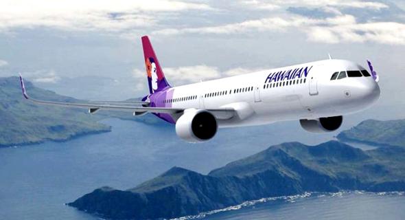מטוס של הוואיאן, צילום: Airbus