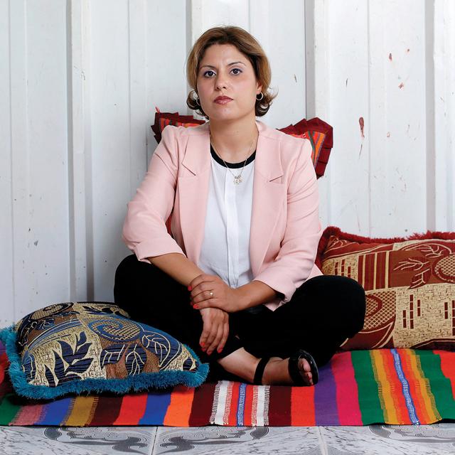 """מגזין נשים 3.9.18 עו""""ד אינסאף אבו שארב, צילום: עמית שעל"""