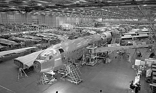 מפעלי בואינג בסוף שנות השישים