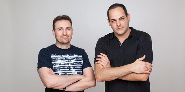 מימין איתי הירש ואייל רונן יזמי Puls, צילום: רוני פרל
