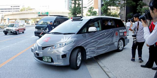 עצמאית ביפן: נסיעת מבחן של מונית אוטונומית ברחובות טוקיו הסתיימה בהצלחה