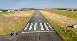 הדמיה של מסלול המראה ברמת דוד, צילום: stratosjets.com