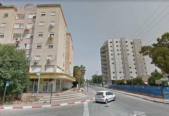 רחוב וולפסון בעפולה , צילום: Google Street View