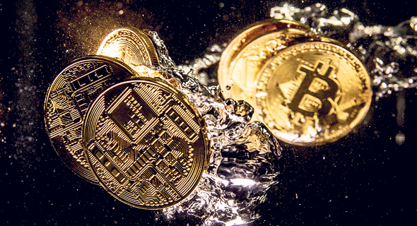 bitcoin ביטקוין, צילום: Dan Kitwood