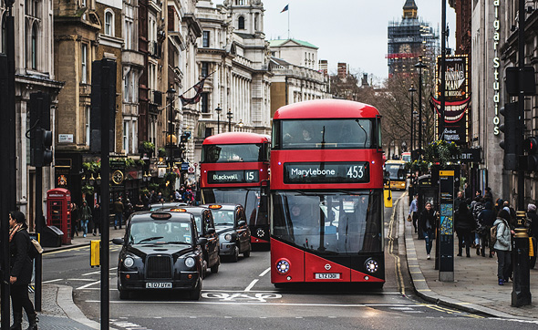 A London cab. Photo: Shutterstock