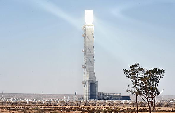 תחנת הכוח באשלים, צילום: חיים הורנשטיין