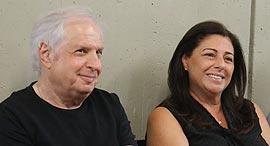 שאול אלוביץ' ו איריס אלוביץ' בבית המשפט המחוזי תל אביב 30.8.18, צילום: דנה קופל