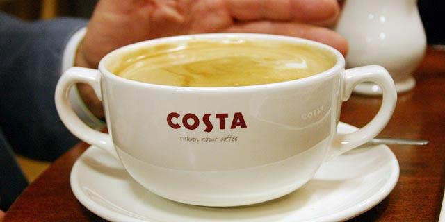 קוקה קולה רוכשת את רשת בתי הקפה הבריטית COSTA תמורת 5.1 מיליארד דולר