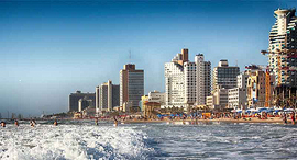 חוף הים בתל אביב, צילום: GidonPico/Pixabay