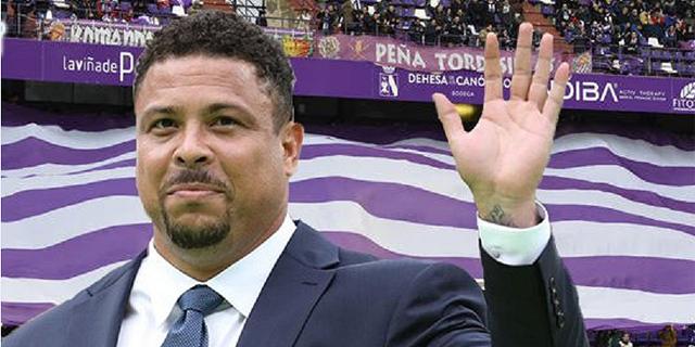 רונלדו הברזילאי רכש את קבוצת ריאל ויאדוליד