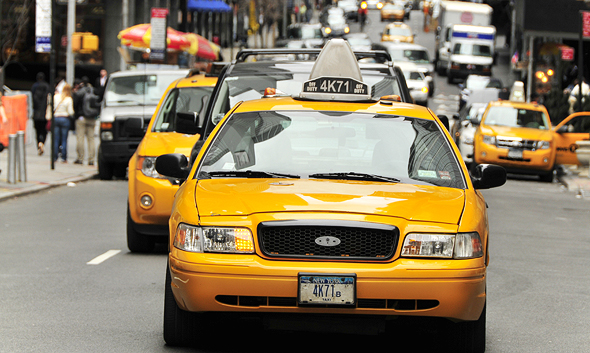 Taxis in New York. Photo: Shutterstock