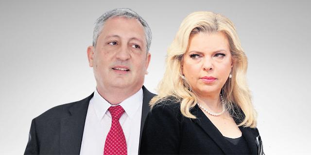 רעיית ראש הממשלה שרה נתניהו ויועץ התקשורת לשעבר ניר חפץ, צילומים: גדעון מרקוביץ, אלכס קולומויסקי