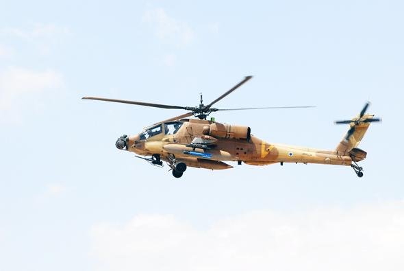 מסוק אפאצ'י של חיל האוויר הישראלי