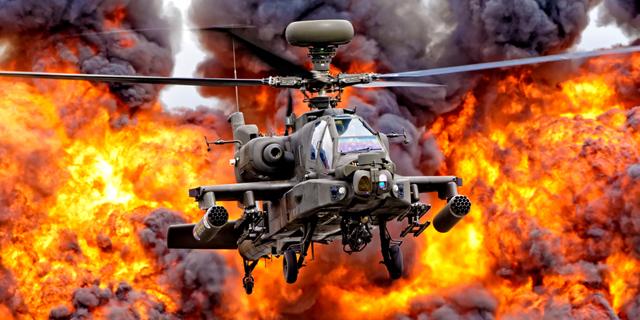 מסוק קרב אפאצ'י הקברניט, צילום: שאטרסטוק