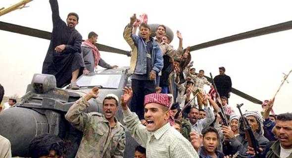 מסוק אפאצ'י שהופל בעיראק