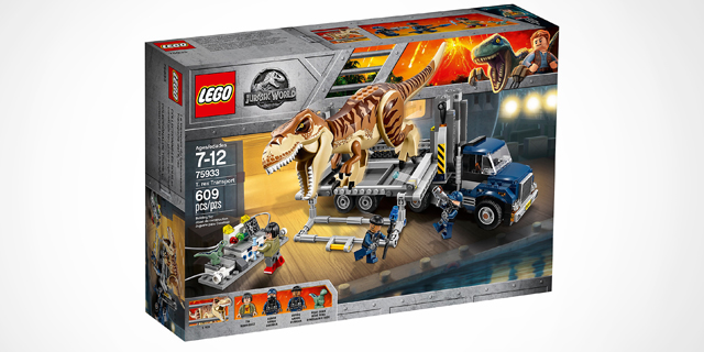 מארז לגו פארק היורה, צילום: Lego