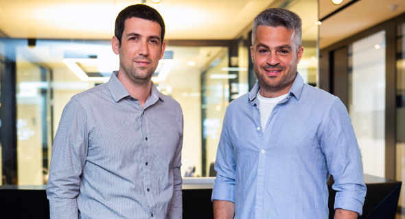 Fleetonomy founders  Lior Gerenstein (left) and  Israel Duanis. Photo: Inbar Levi
