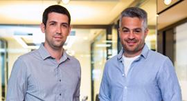 מייסדי פליטונומי מימין ישראל דואניס וליאור גרינשטיין, צילום: ענבר לוי