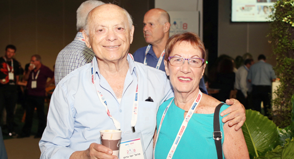 אסתר לבנון ויוסי גרוס, צילום: אוראל כהן