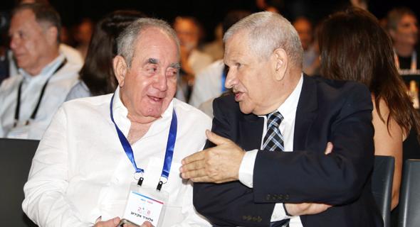 דוד ברודט ואלפרד אקירוב , צילום: אוראל כהן