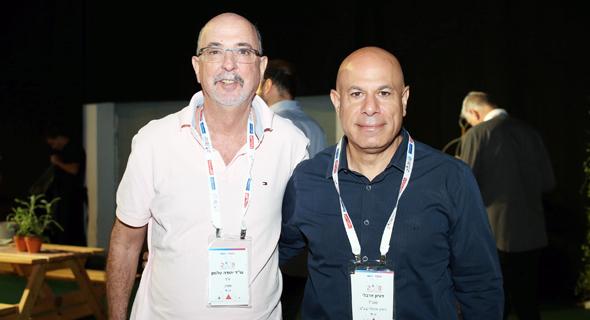 דורון ארבלי ויהודה טלמון , צילום: אוראל כהן