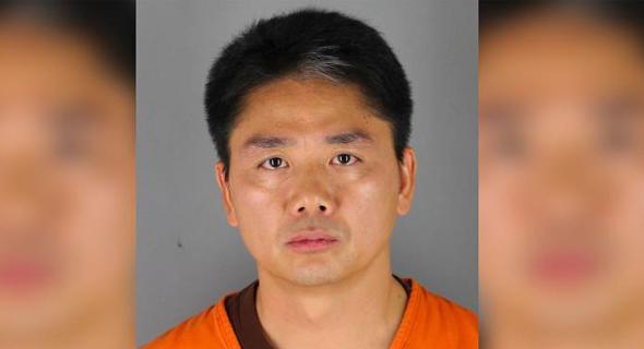 ריצ'רד קיאנגדונג ליו, בתמונה ממעצרו