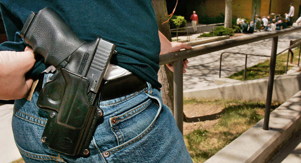 Guns. Photo: AP